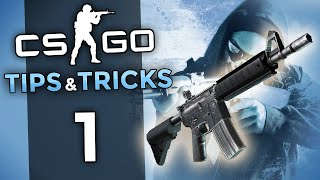 CS GO Tips and Tricks Ep 1 - 5 Simple Tips to Rank Up