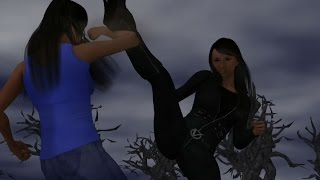 Poser fight animation : Self Liberation