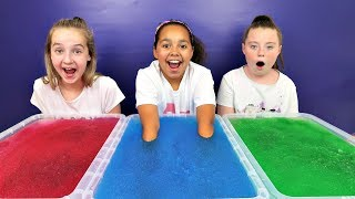 GELLI BAFF TOY CHALLENGE GAME!! Alien Baby Slime   Toys AndMe
