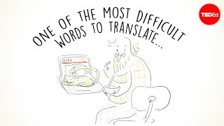 One of the most difficult words to translate... - Krystian Aparta