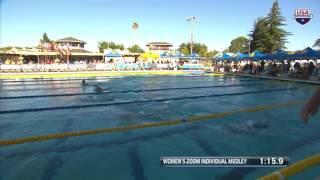 Women's 200m IM A Final | 2017 arena Pro Swim Series at Santa Clara