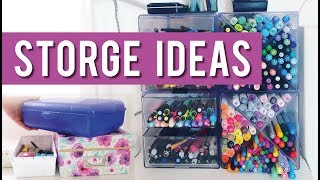Art Supplies Organization: 5 Ideas