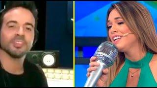Jazmín Pinedo y Luis Fonsi cantaron
