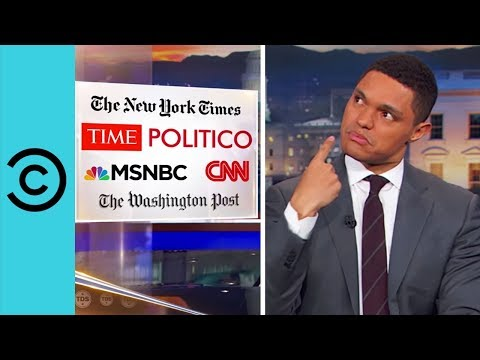 Trump Versus The Media The Daily Show Comedy Central