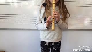 """Variació nº3 sobre el tema """"Ah vous dirai-je, maman"""". Flauta"""