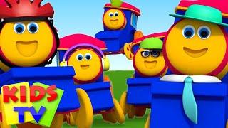 Bob The Train | Five Little Babies | Nursery Rhymes | Baby Rhymes | Kids Songs