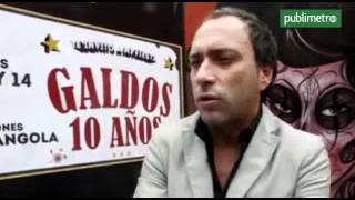 """Carlos Galdós, 10 años de humor: """"Me encanta ver que la gente ría"""""""