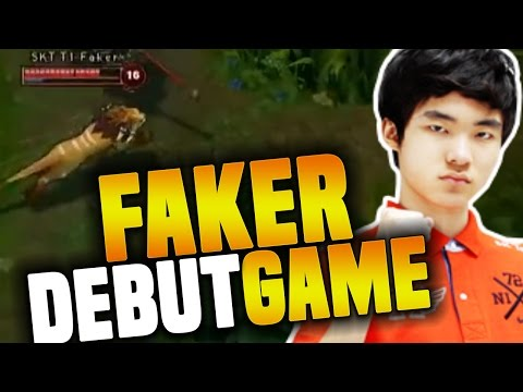 Xxx Mp4 Faker39s First Professional Game The Debut Of The Best Player In LoL History The God Was Born 3gp Sex