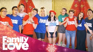 """ABS-CBN Christmas Station ID 2018 """"Family Is Love"""" Recording Lyric Video"""