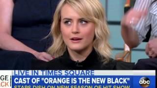 Orange is the new black Season 4, 5 Interview (NEW 2016)