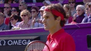 Tennis Men's Singles Quarterfinals - Switzerland V United States Full Replay -- London 2012 Olympics