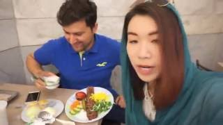 MISS TRAVELING IN IRAN VLOG #1: PERSIAN FOOD AND PEOPLE ARE TERRORISTS??