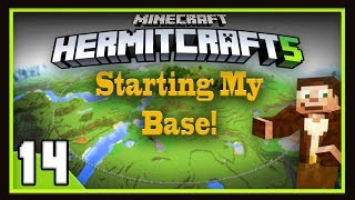 HermitCraft Season 5:  Starting My Modern City Base!   (Minecraft 1.12)