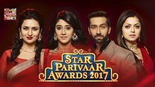Star Parivar Awards 2017   Divyanka Tripathi, Anita Hassanandani, Sanaya Irani, Drashti Dhami