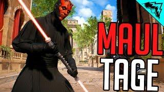 DARTH MAUL Gameplay - Star Wars Battlefront 2 Multiplayer Gameplay Montage/Highlights