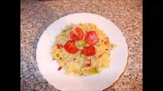How to make quick fried Rice with your leftover Rice