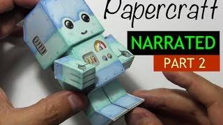 How to Make a Paper Craft Chibi Robot: PART 2