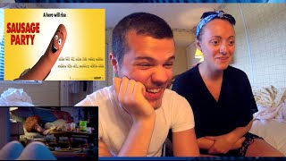 SAUSAGE PARTY - Official Red Band Trailer #2 Reaction