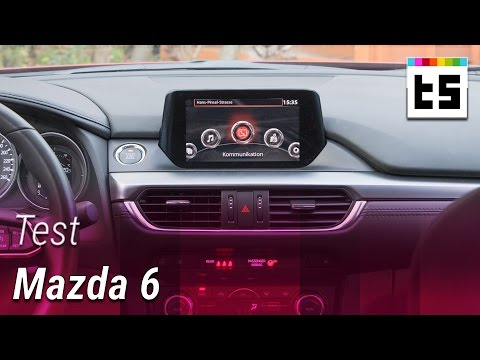 MZD Connect: Infotainment-System des Mazda 6 – Hands-on