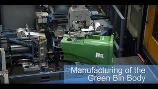 City of Toronto Green Bin manufacturing
