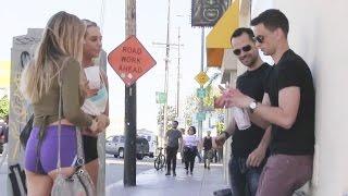 Two Girls Pranking Guys in Public!