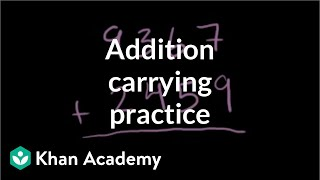 Addition 4 | Addition and subtraction | Arithmetic | Khan Academy