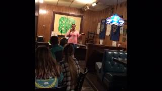 Alexandra Godos  - Stand up comedy in USA