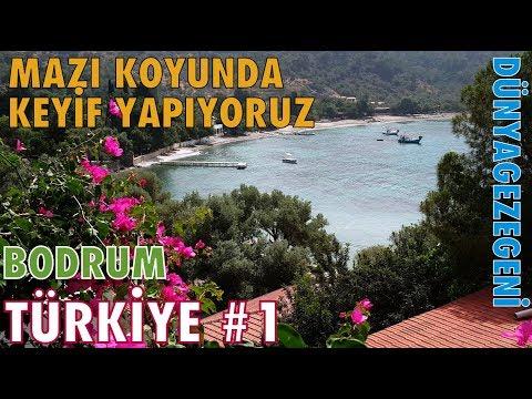 Aşağı Mazı da keyifli bir koy dayız. Bodrum Türkiye 1 Dünya gezegeni DG Dünyagezegeni