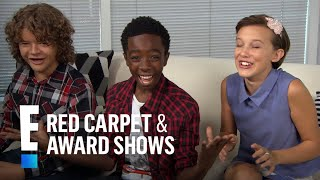 """""""Stranger Things"""" Stars Have Celeb Fans! 