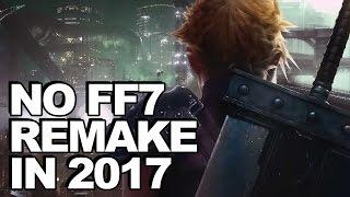 Final Fantasy 7 Remake Not Releasing In 2017, Square Enix Tells Investors