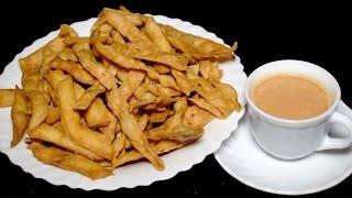 Namak Para Recipe - How to Make Mathri Namakpare - Namkeen Tea Time Recipe