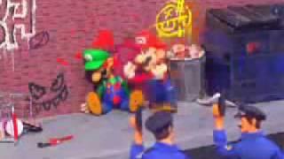 Mario & Luigi Get into Vice City