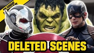 Best MARVEL Deleted Scenes - (Civil War, Guardians Of The Galaxy, Avengers)