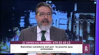 El alcalde de Brunete a Sánchez: 'Estás llevando a España al mayor de los abismos'