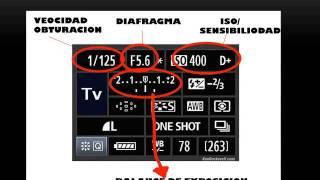 Curso de Fotografia - Aprende a usar una camara reflex!! 20 min