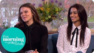Corrie's Faye Brookes and Bhavna Limbachia Tease What's Next For Kate and Rana   This Morning