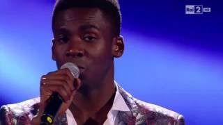 "Charles Kablan  ""Hello"" - The Voice of Italy 2016"