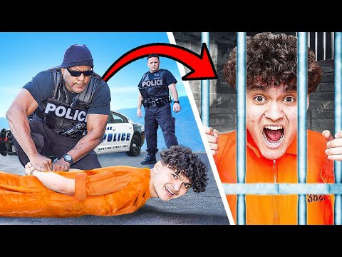 ARRESTING MY LITTLE BROTHER PRANK Freakout