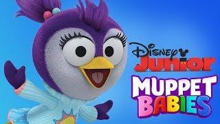 Muppet Babies | Summer Penguin Fun Puzzles, Mini Games For Children | Disney Junior App For Kids