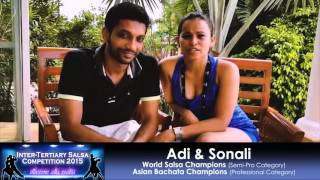 ITSC 2015 Promo Video - Guest Performers - Adi y Sonali