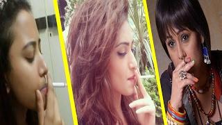 Smoking || Famous Tv Actress Caught Smoking Publicly  || Shocking News