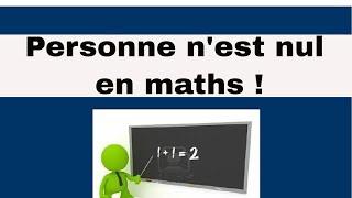 Comprendre les maths : 1er conseil 2/7