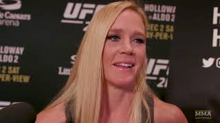 Holly Holm Explains How She's Been Able To Overcome Adversity In Fighting - MMA Fighting