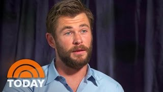 Chris Hemsworth Talks 'Huntsman,' Thor, And Bringing His Daughter On Set | TODAY
