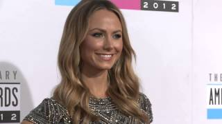 Stacy Keibler Red Carpet Fashion AMAs 2012