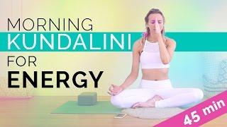Easy Morning Kundalini Yoga & Meditation For Energy & Radiance (45-min)