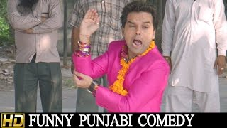 Punjabi Comedy Scene - Canada Wala  Munda || Lokdhun Punjabi