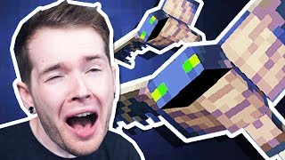 I was ATTACKED by PHANTOMS in Minecraft Hardcore!
