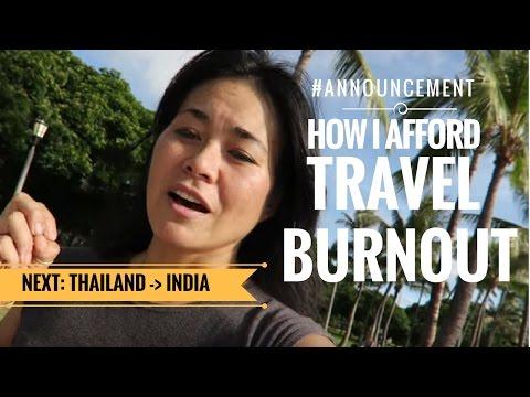 How I Afford Travel Burnout