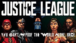 Justice League Trailer Spoof - TOON SANDWICH